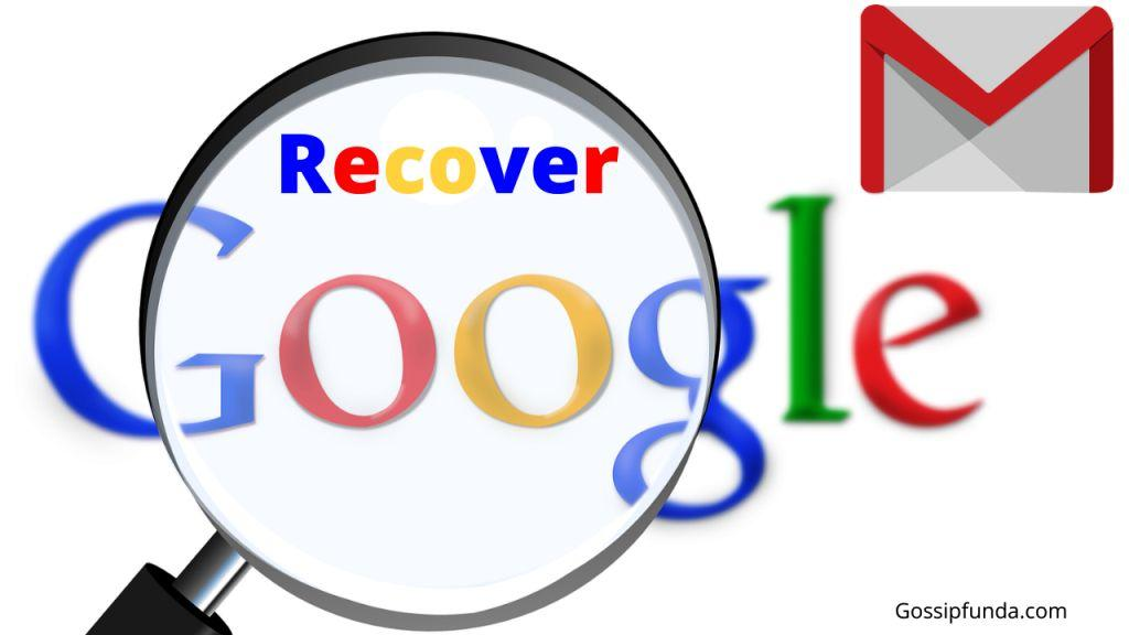 How to recover permanently deleted emails from gmail?