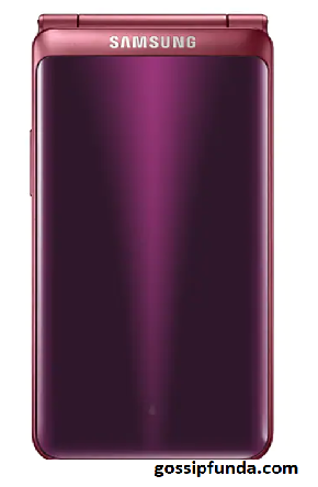 Samsung galaxy Folder2 which was launched in 2017 a smart android flip phone
