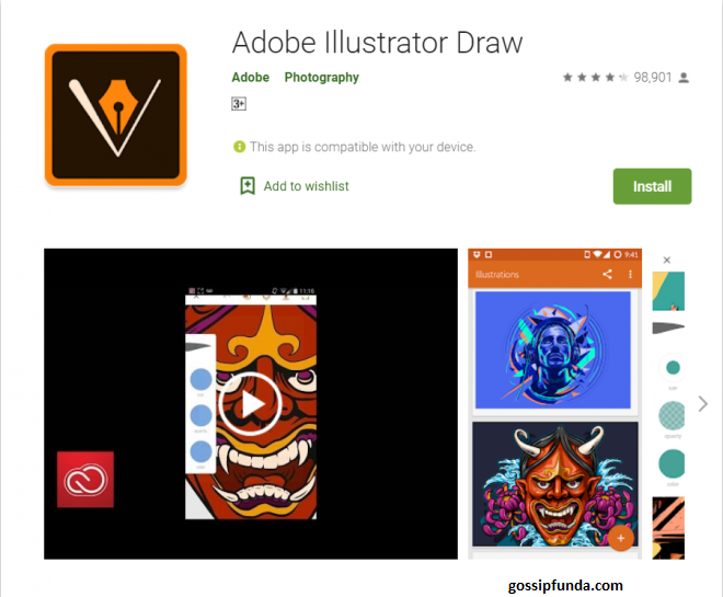 Illustrator Draw for Android on Play Store