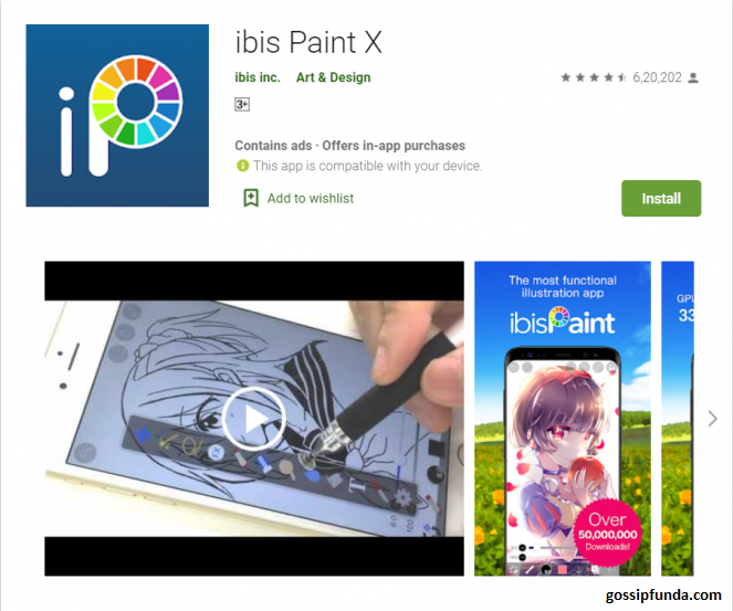 ibis Paint X on Play Store