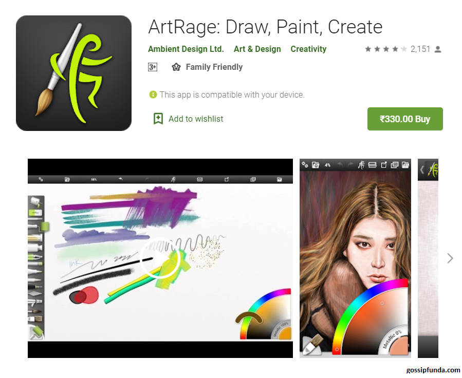 ArtRage: Draw, Paint, Create alternative to procreate android