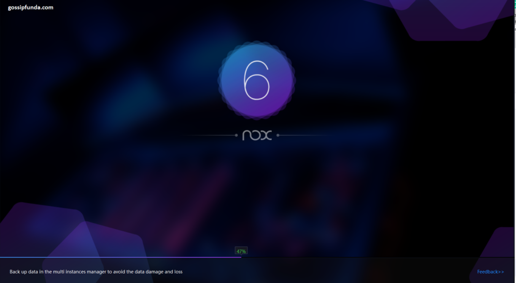 Opening NoxPlayer