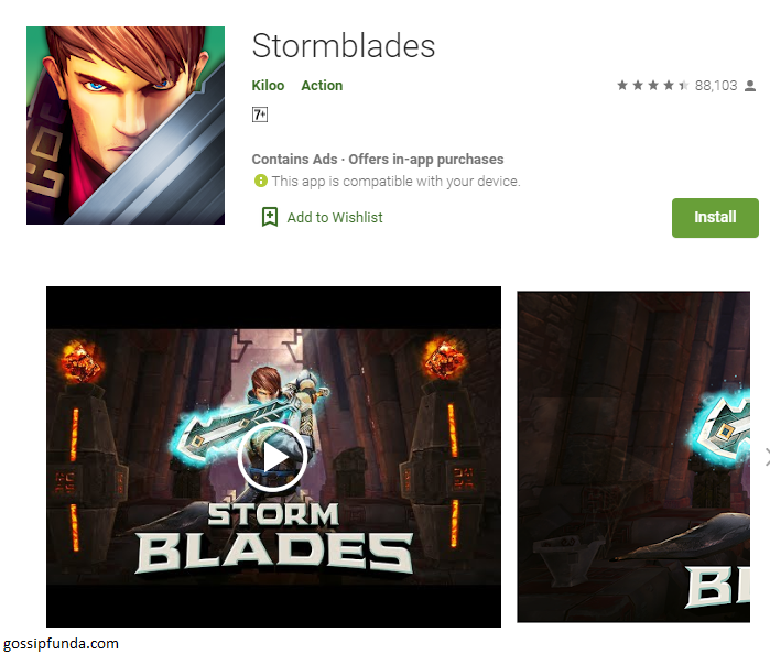 STORMBLADES: Infinity Blade on Android