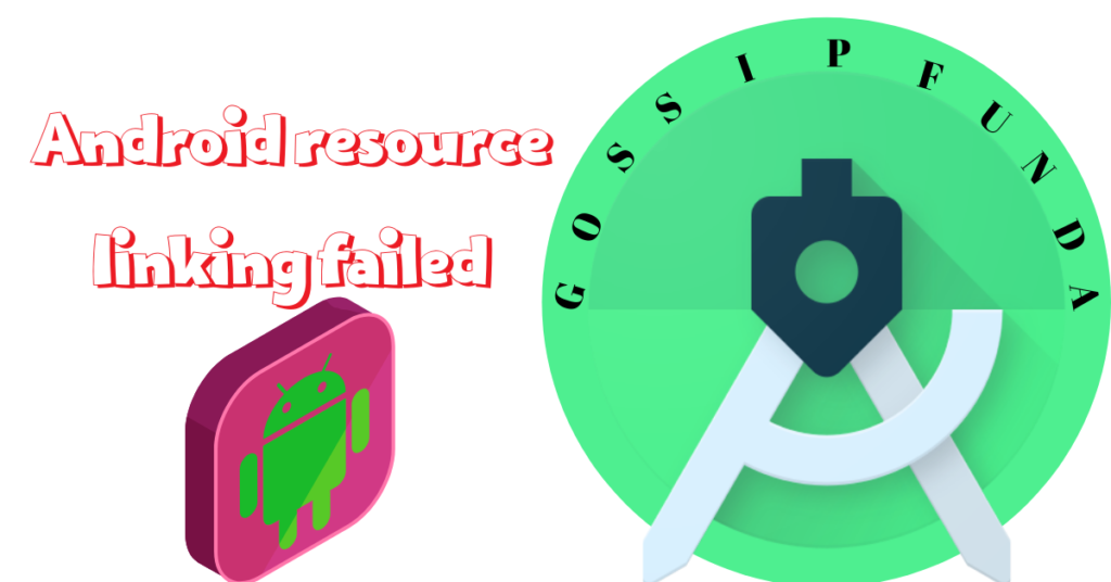 Android resource linking failed