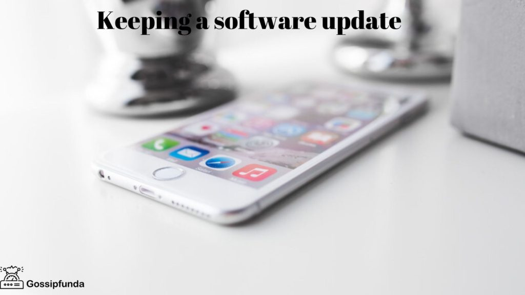 No Service On iPhone-Keeping Software Updated