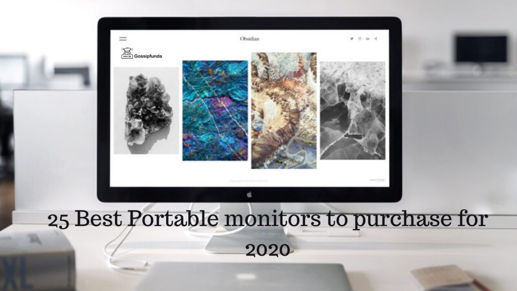 The Best Portable Monitor 2020