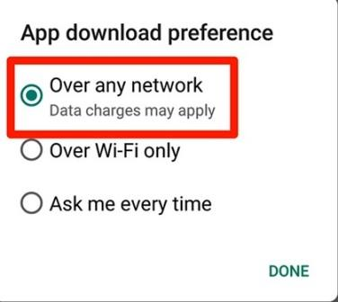 Over any network.