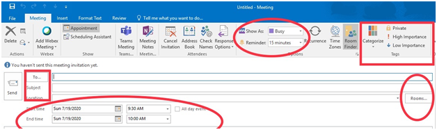 meeting request mail format