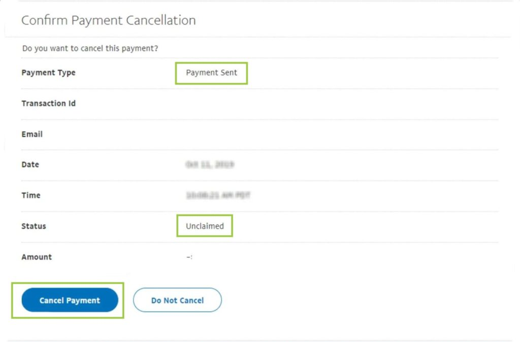 Can I cancel the payment I already did with PayPal?