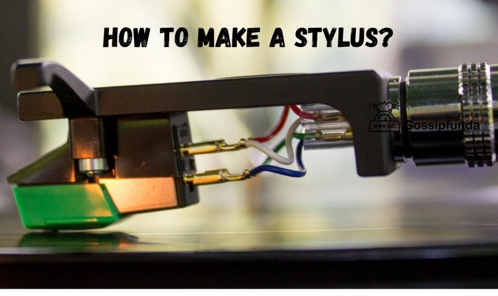 How to make a stylus?