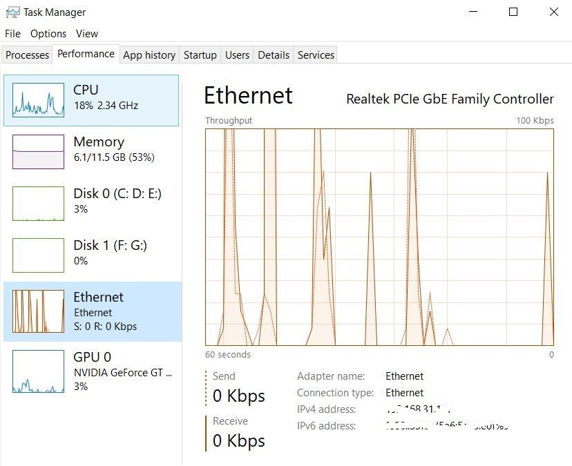 Networking or Ethernet