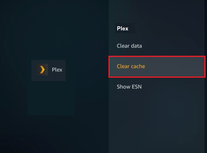 How to clear the cache on firestick?