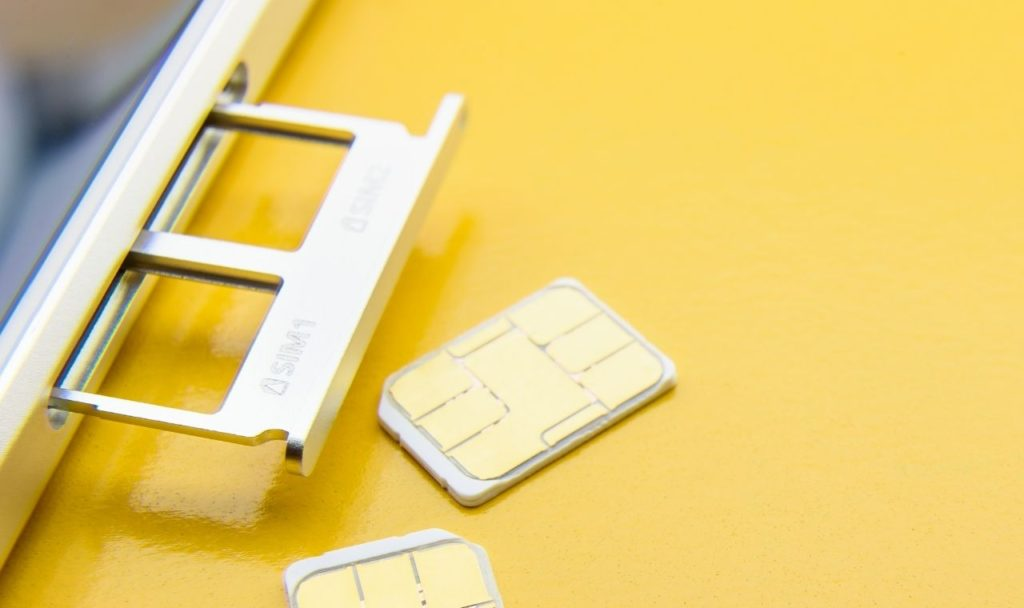 Re-insert the SIM Card in the device