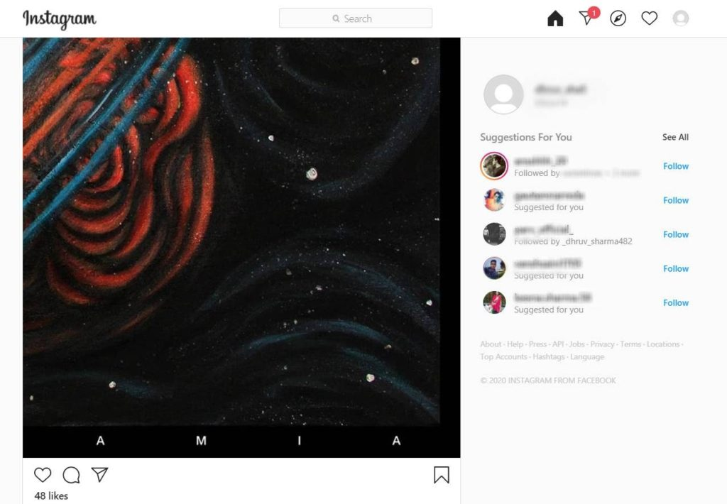 How to download instagram photos using your PC or laptop