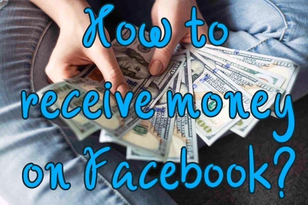 How to receive money on Facebook
