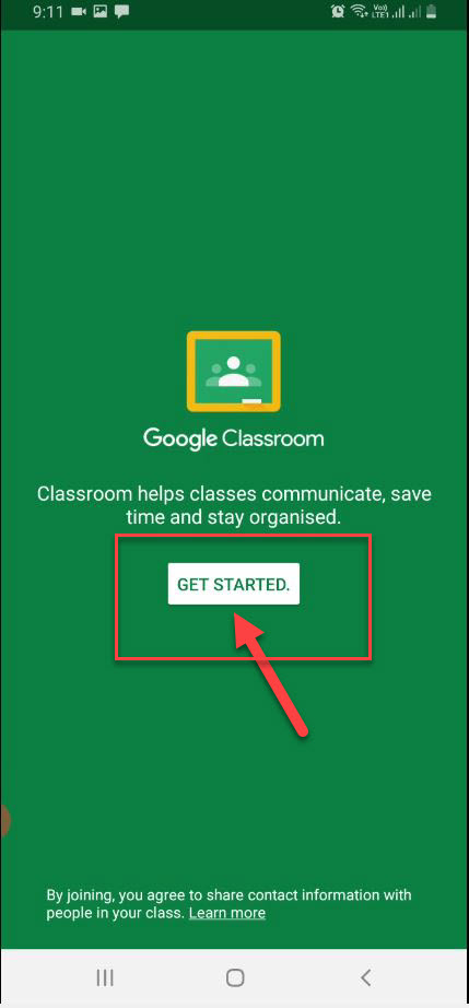 How to setup a Google Classroom for students?