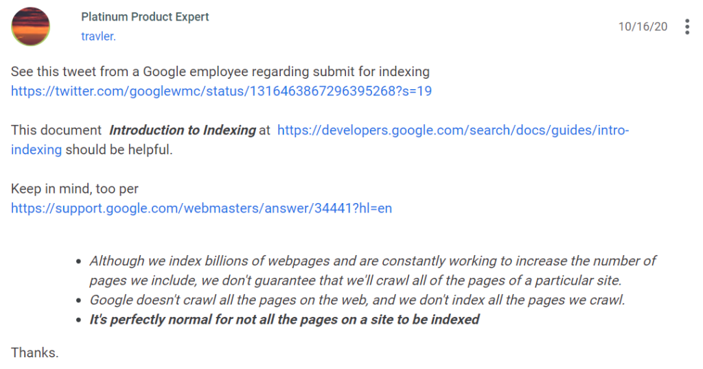 Page actions are temporarily disabled in Google Search Console
