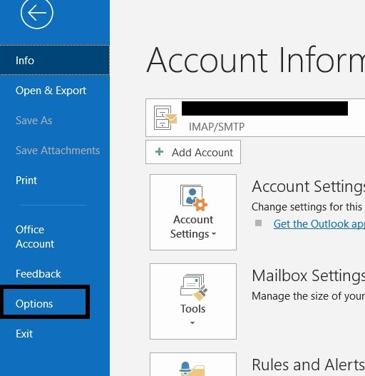 How to refresh mail in outlook