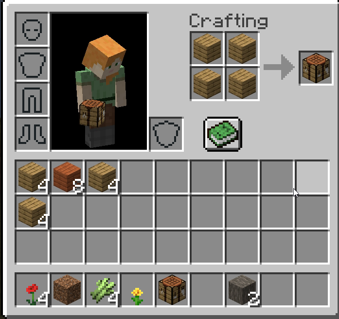 Craft the Crafting table