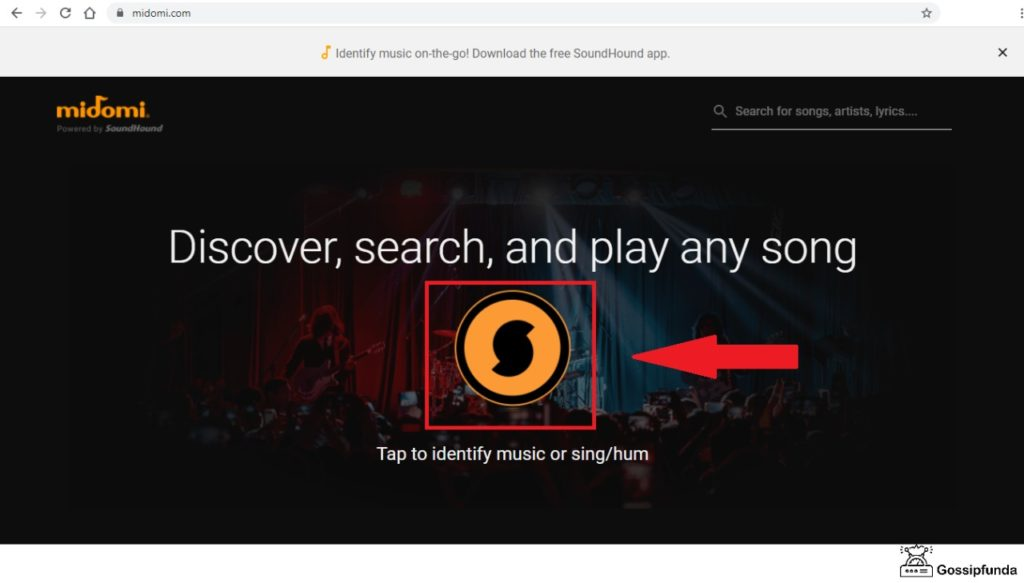 Reverse Music Search