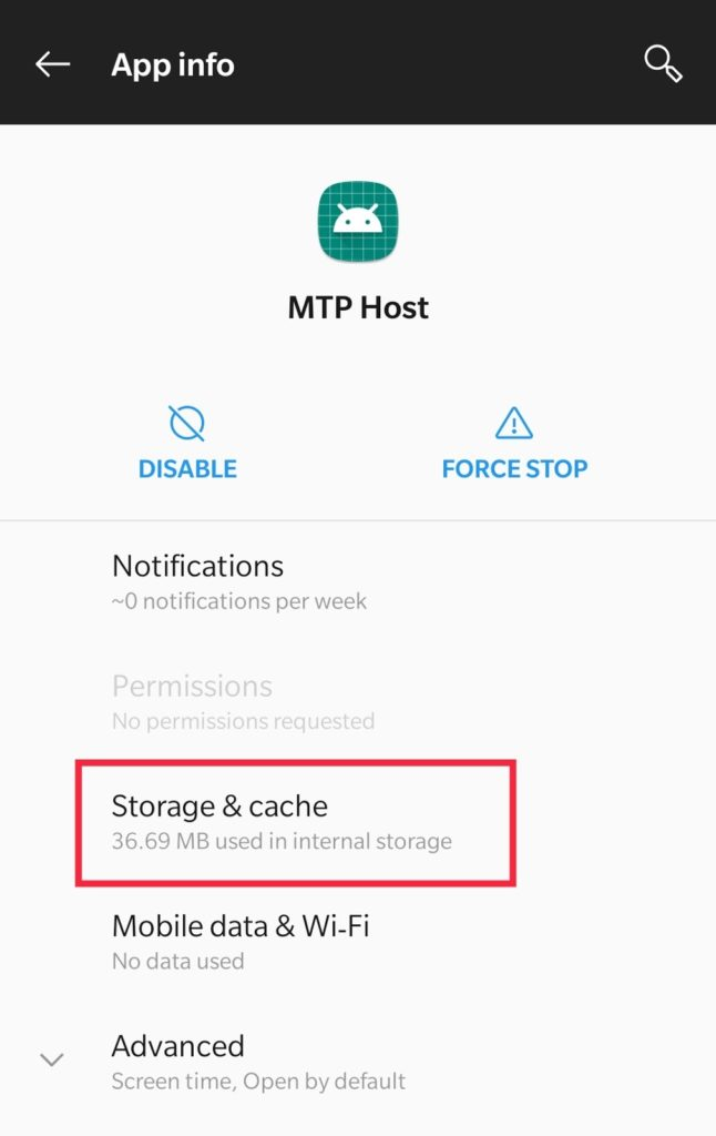 storage of com.samsung.android.mtpapplication