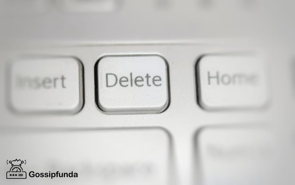 """delete any of those """"unwanted"""" messages"""