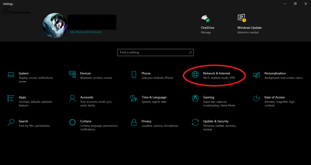 Try Resetting your Network Settings