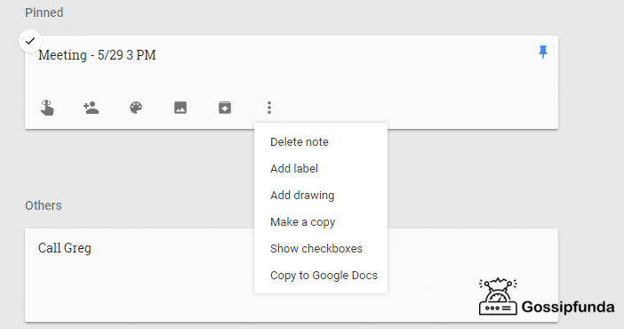How to manage your google notes?
