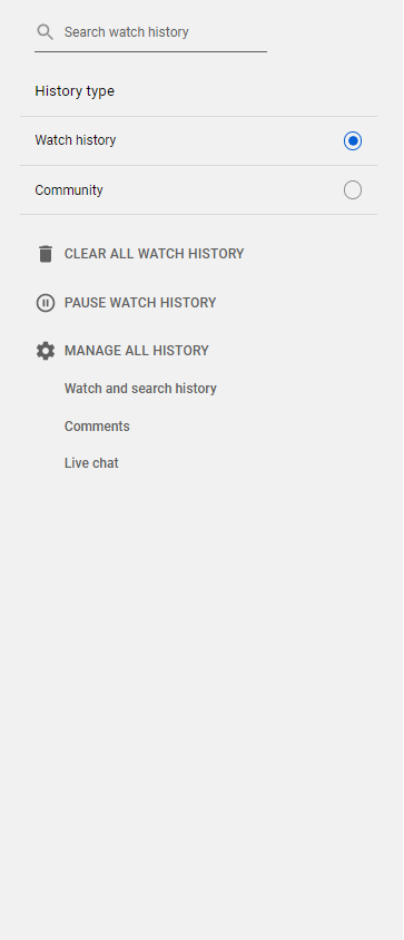 How to pause your YouTube watch history?